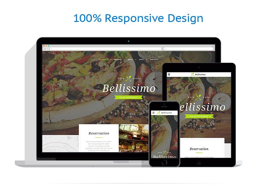 Sablon responsive de   Cafenele & Restaurante   ID: 2615