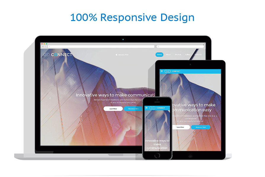 responsive template | Communications | ID: 2616