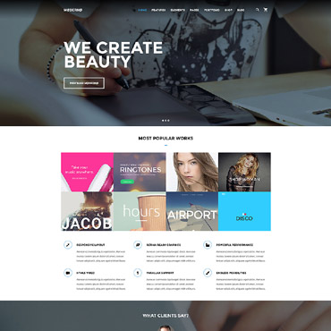 template | Web design