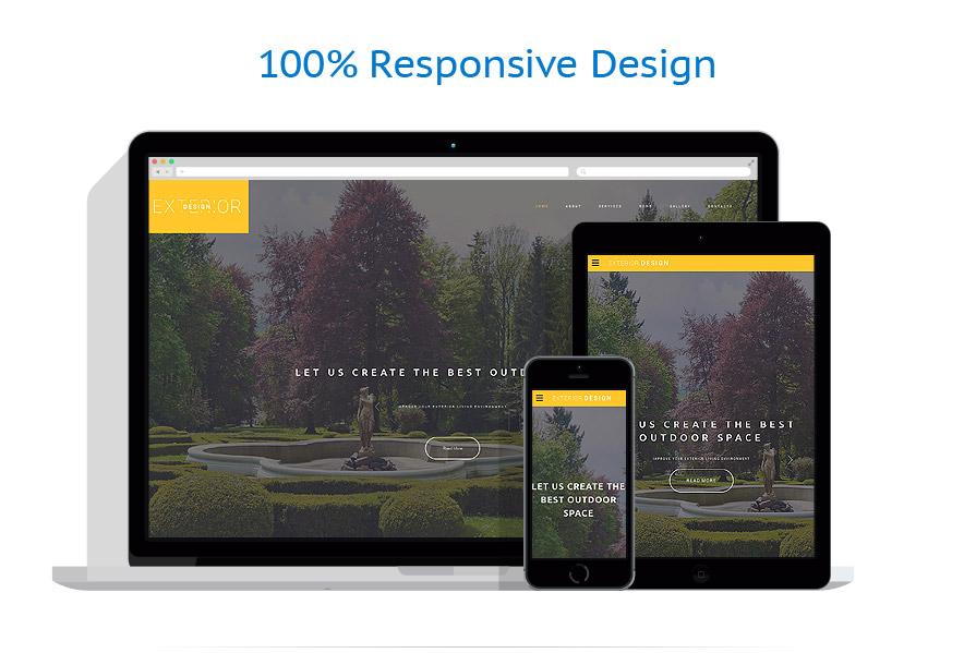 responsive template | Exterior design | ID: 2627