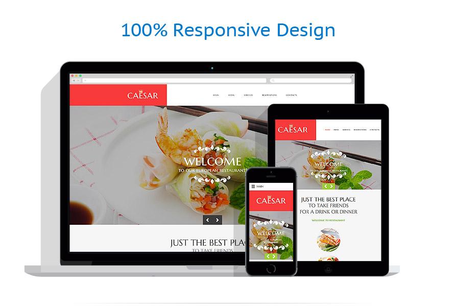 Sablon responsive de | Cafenele & Restaurante | ID: 2637