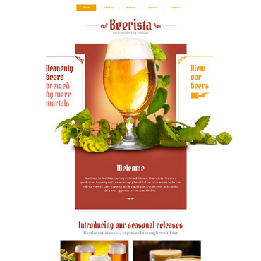 template | Brewery Templates | ID: 2645