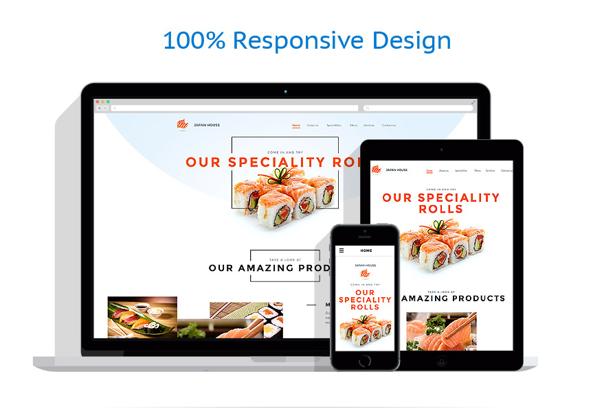Sablon responsive de | Cafenele & Restaurante | ID: 2650