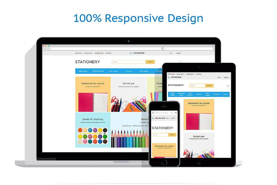responsive template | Business | ID: 2659