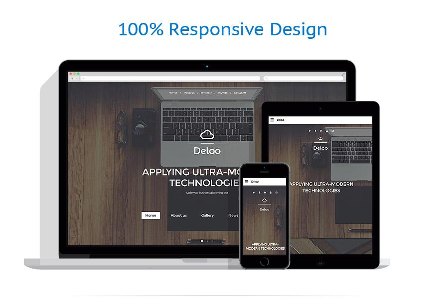 Sablon responsive de   Web design   ID: 2660