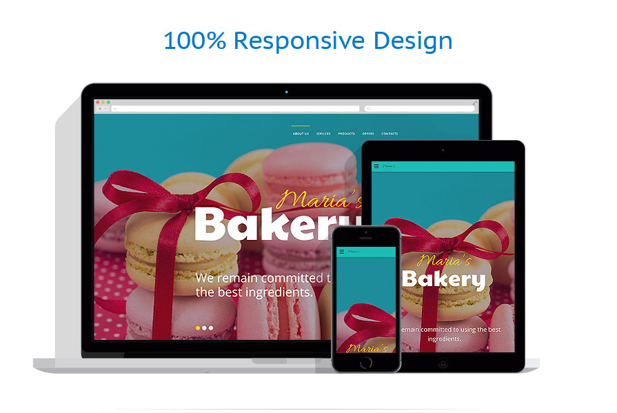 responsive template | Food & Drink | ID: 2670