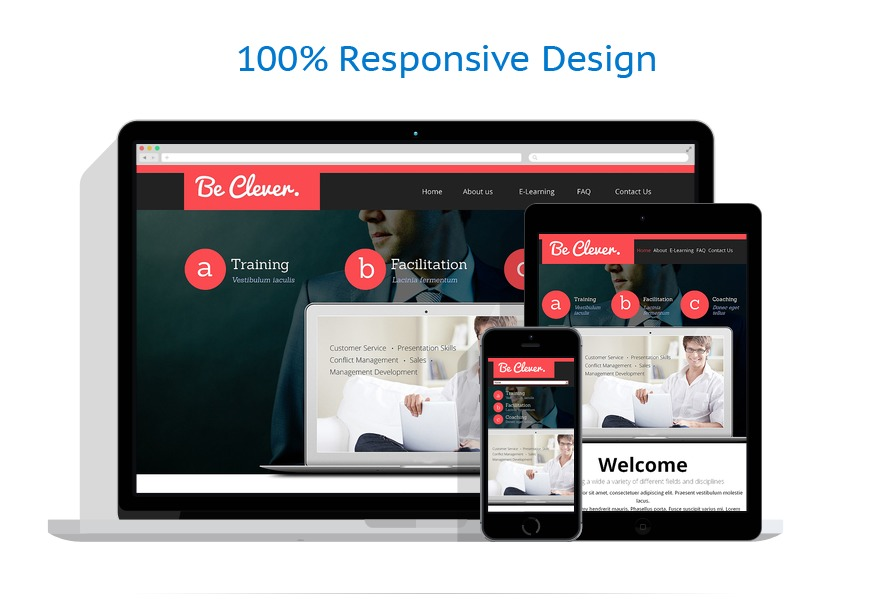 Sablon responsive de | Business | ID: 268