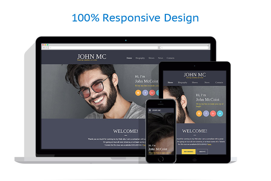 responsive template | Books | ID: 2685