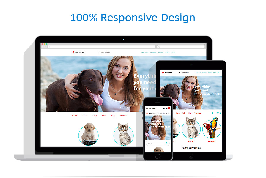 responsive template | Animals & Pets