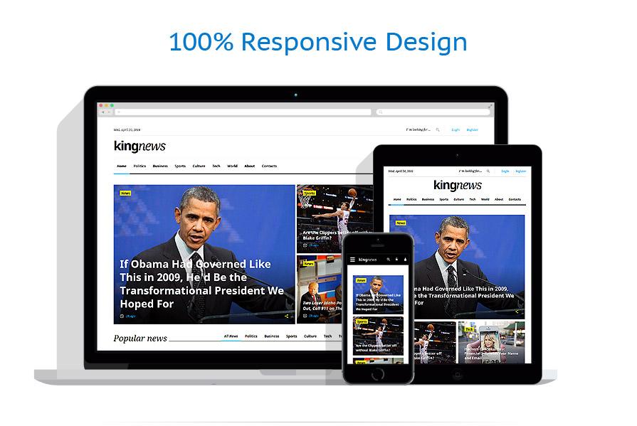 responsive template | Media | ID: 2694