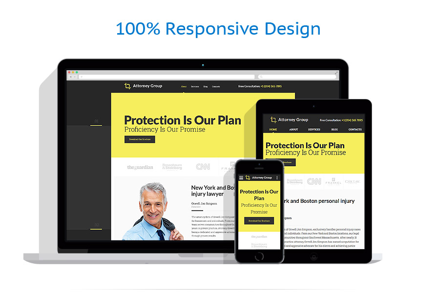 responsive template   Law   ID: 2701