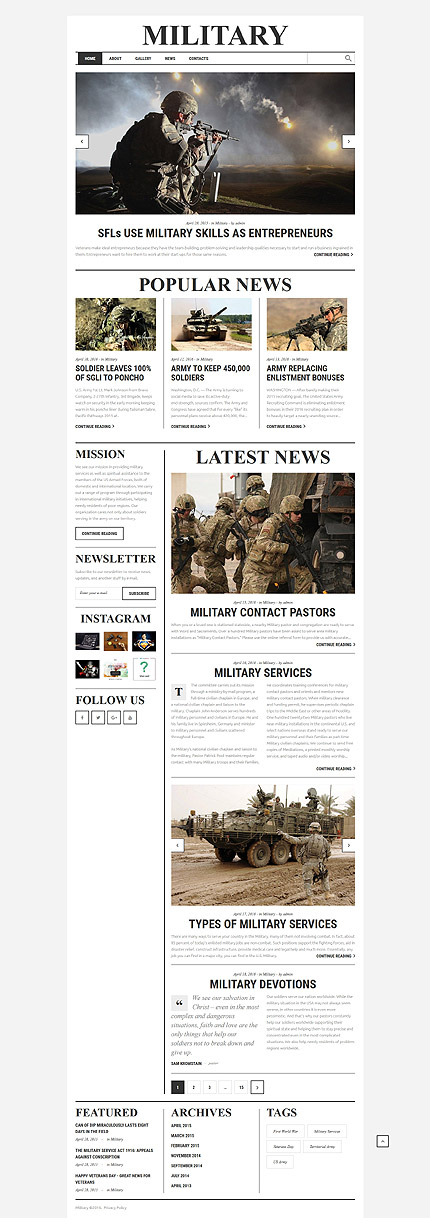 template | Military | ID: 2704