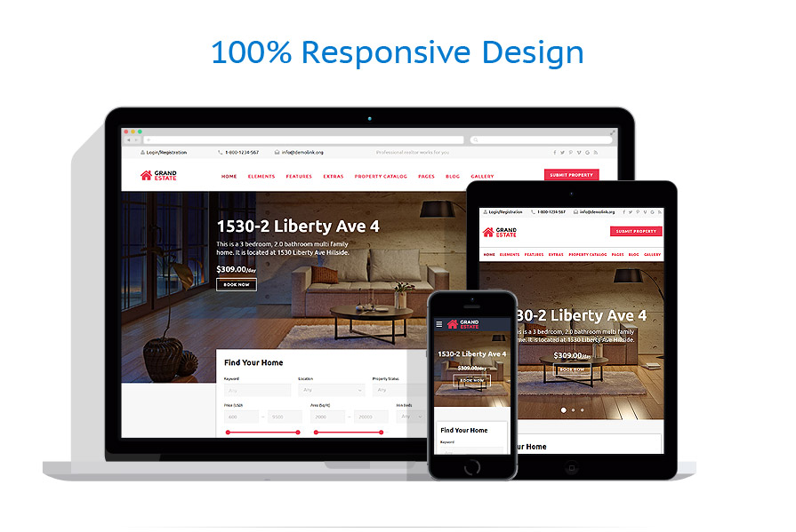responsive template | Real Estate | ID: 2730
