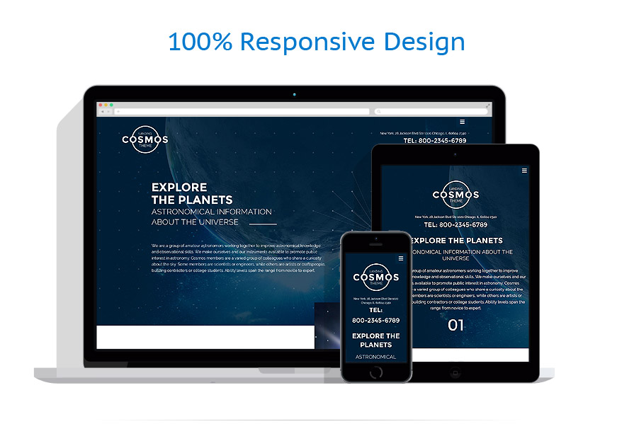 responsive template   Science   ID: 2736