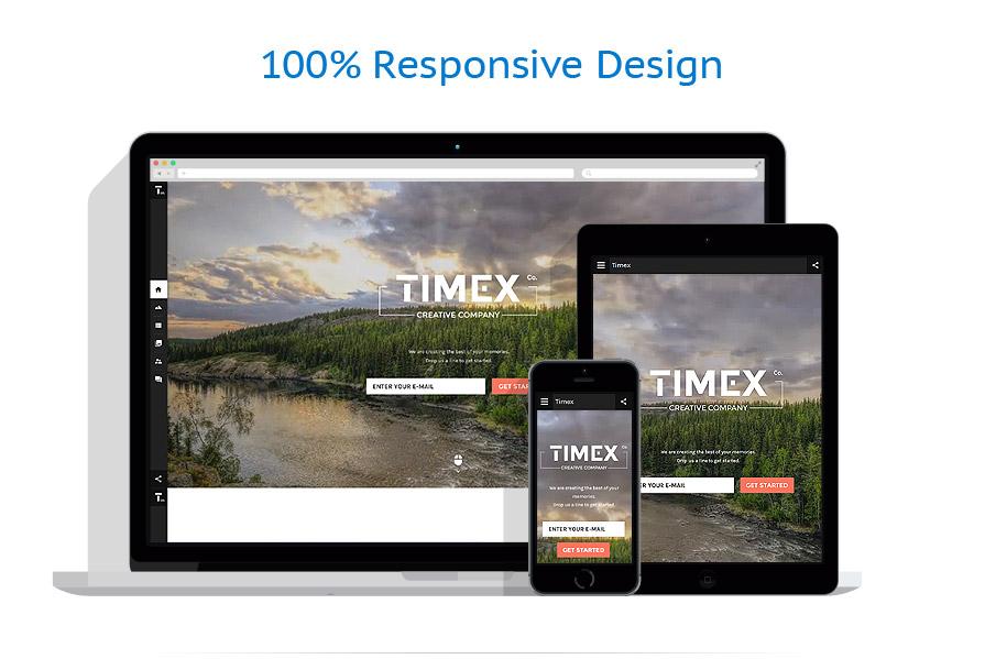 Sablon responsive de | Web design | ID: 2752