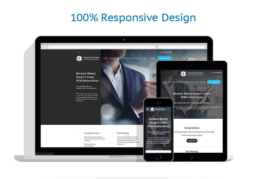 Sablon responsive de | Business | ID: 2755