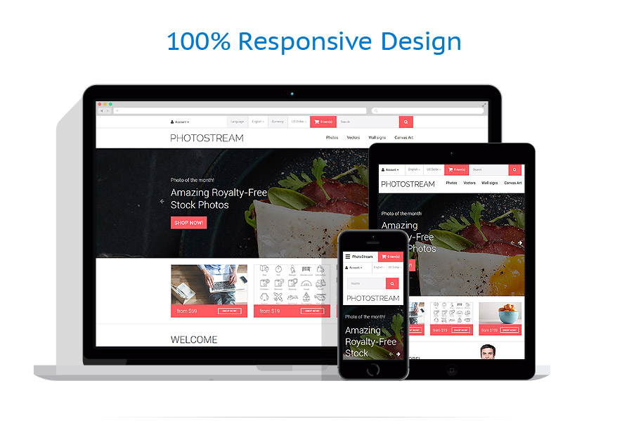 responsive template   Art & Photography   ID: 2758