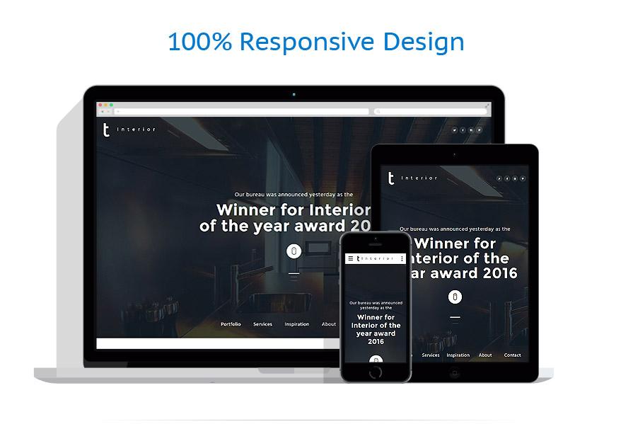 Sablon responsive de | Design Interior & Mobila | ID: 2763