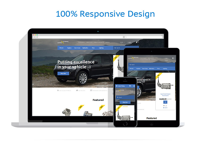 responsive template | Cars