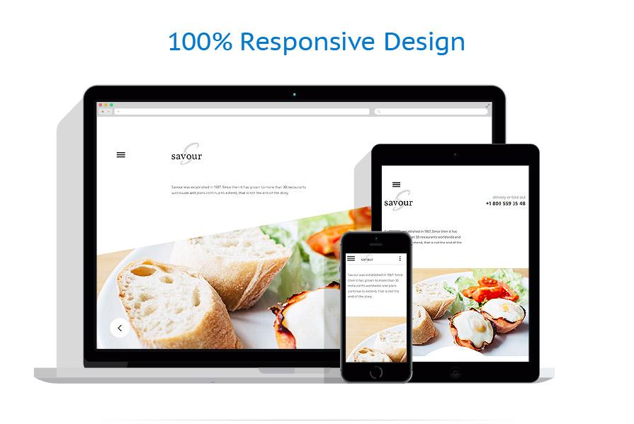 Sablon responsive de | Cafenele & Restaurante | ID: 2769