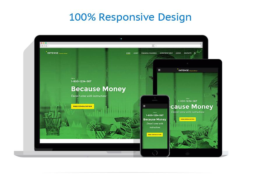 Sablon responsive de | Business | ID: 2772