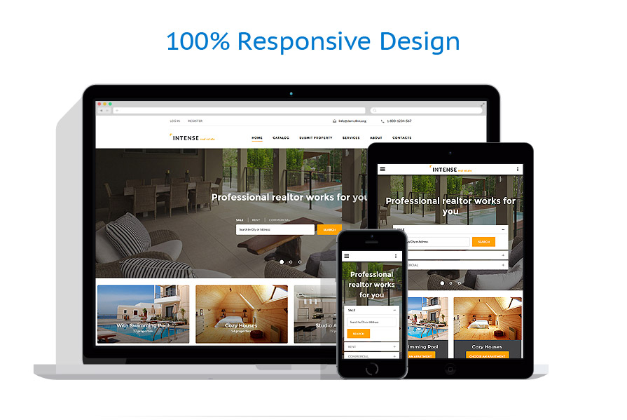 responsive template | Real Estate | ID: 2782