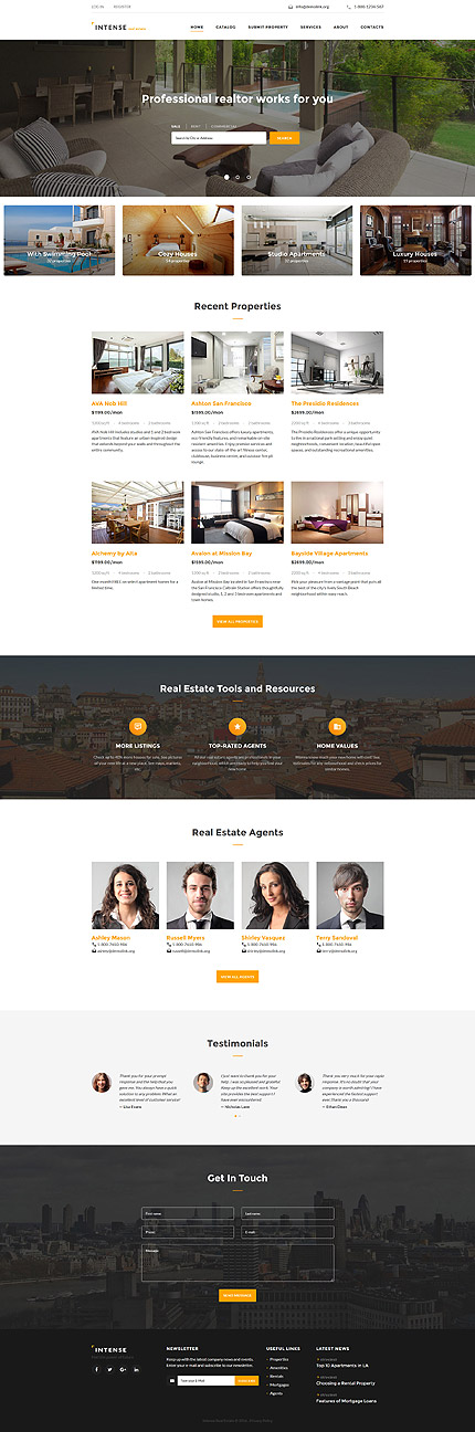 template | Real Estate | ID: 2782