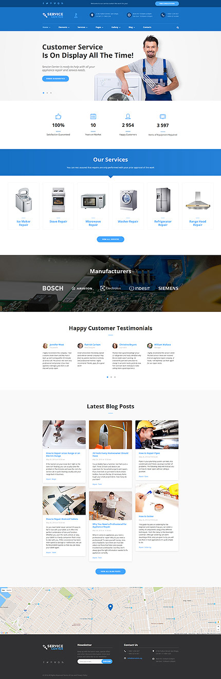 template | Maintenance Services | ID: 2803