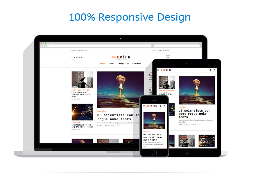 responsive template | Science