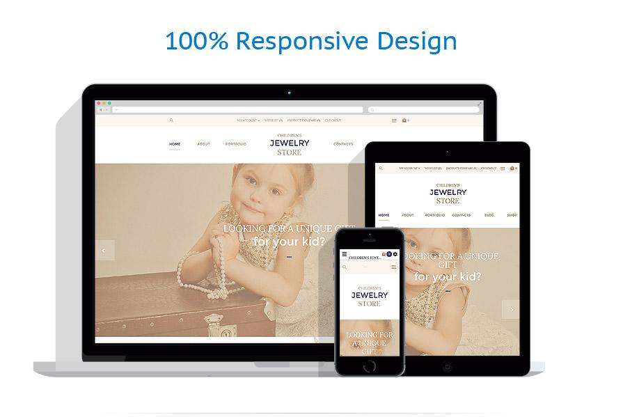 responsive template | Jewelry | ID: 2810
