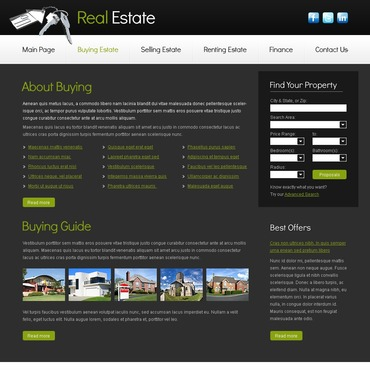 template | Real Estate | ID: 2888