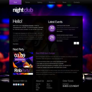 template | Night Club | ID: 2889