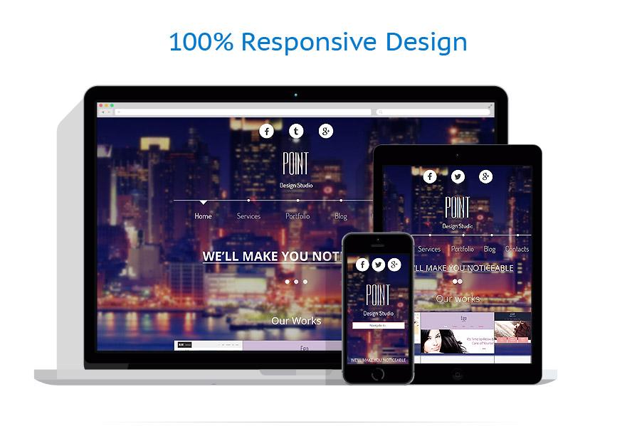 Sablon responsive de | Web design | ID: 2987