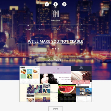 Sablon de | Web design | ID: 2987