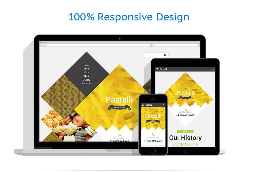 Sablon responsive de | Cafenele & Restaurante | ID: 3004