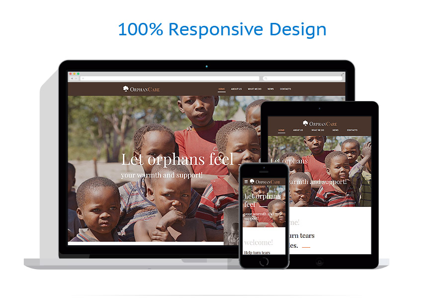 responsive template | Charity