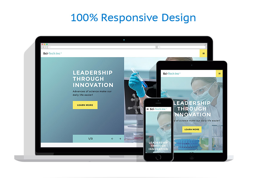 responsive template | Science | ID: 3016