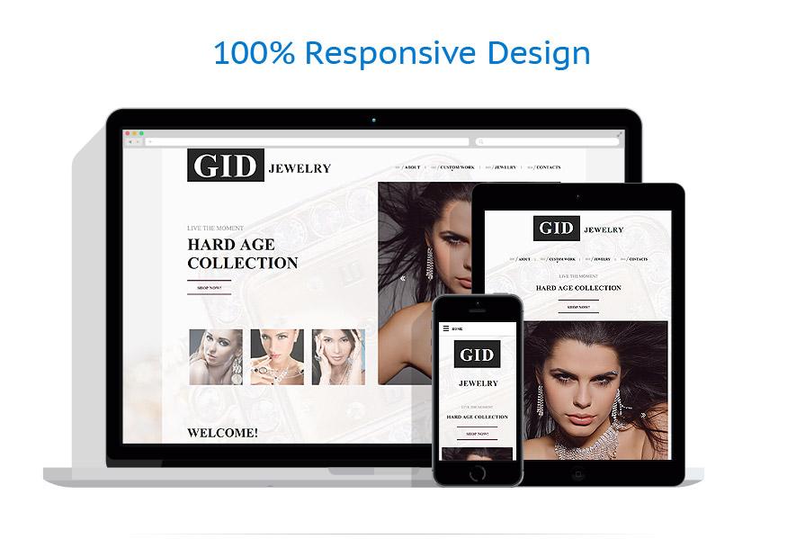 responsive template | Jewelry | ID: 3018