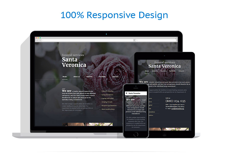 Responsive website templates | Society & Culture