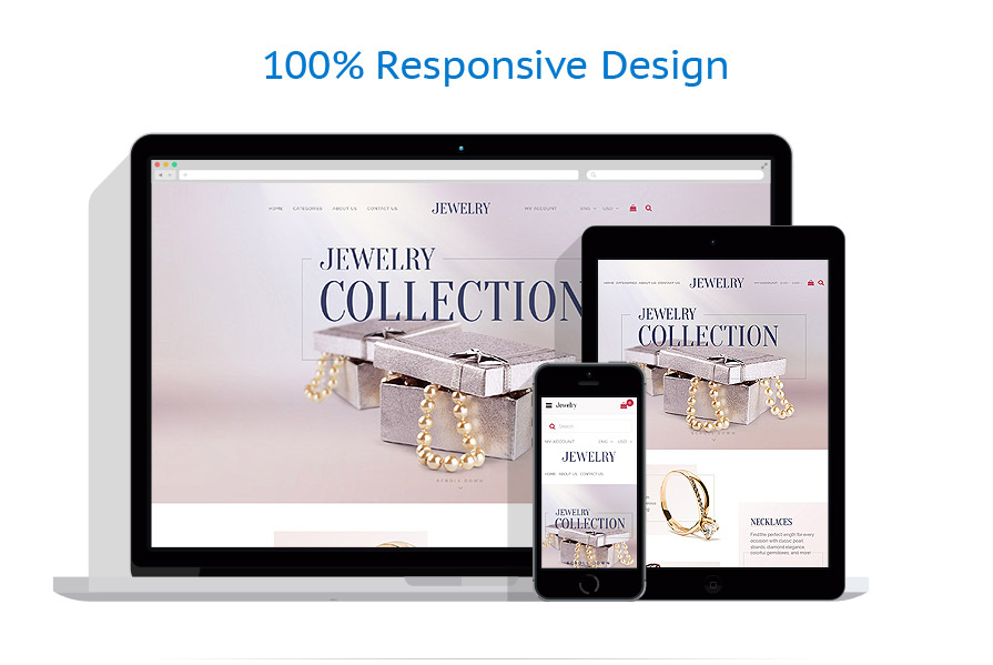 responsive template | Jewelry | ID: 3031