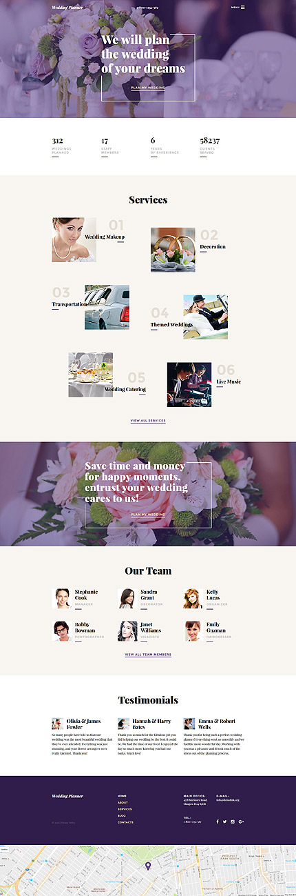 template | Wedding | ID: 3035