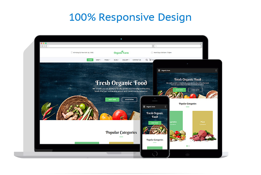 responsive template | Food & Drink
