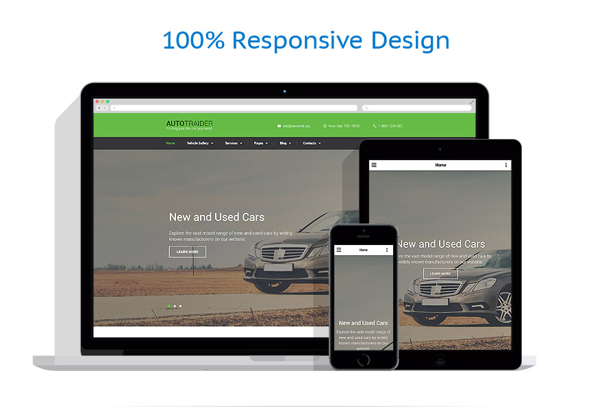 responsive template | Cars | ID: 3060