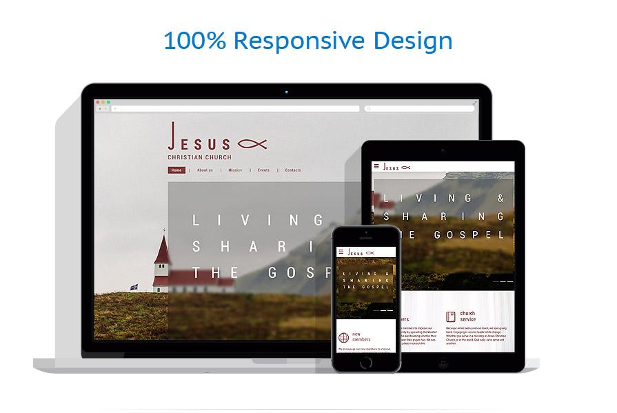 responsive template | Religious | ID: 3067
