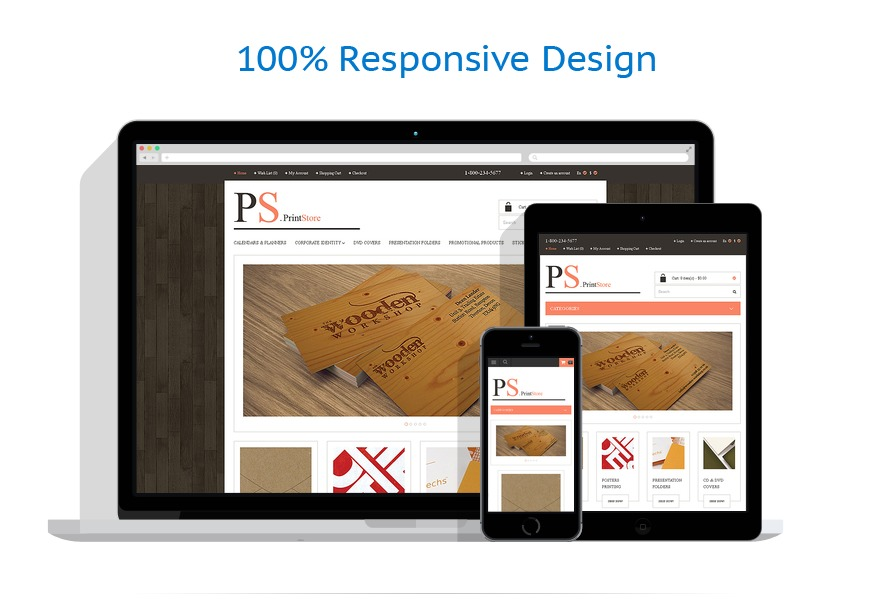 responsive template | Art & Photography | ID: 307