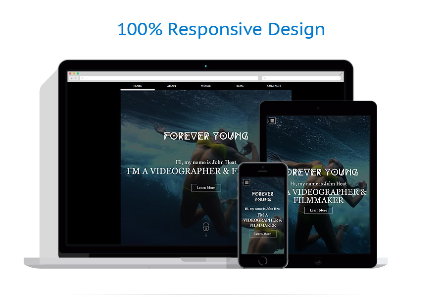 responsive template | Media