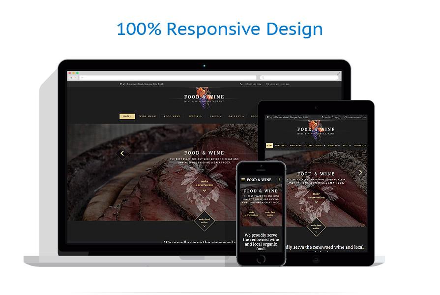 Sablon responsive de | Cafenele & Restaurante | ID: 3080