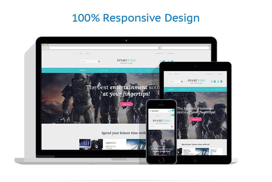 responsive template | Entertainment | ID: 3086