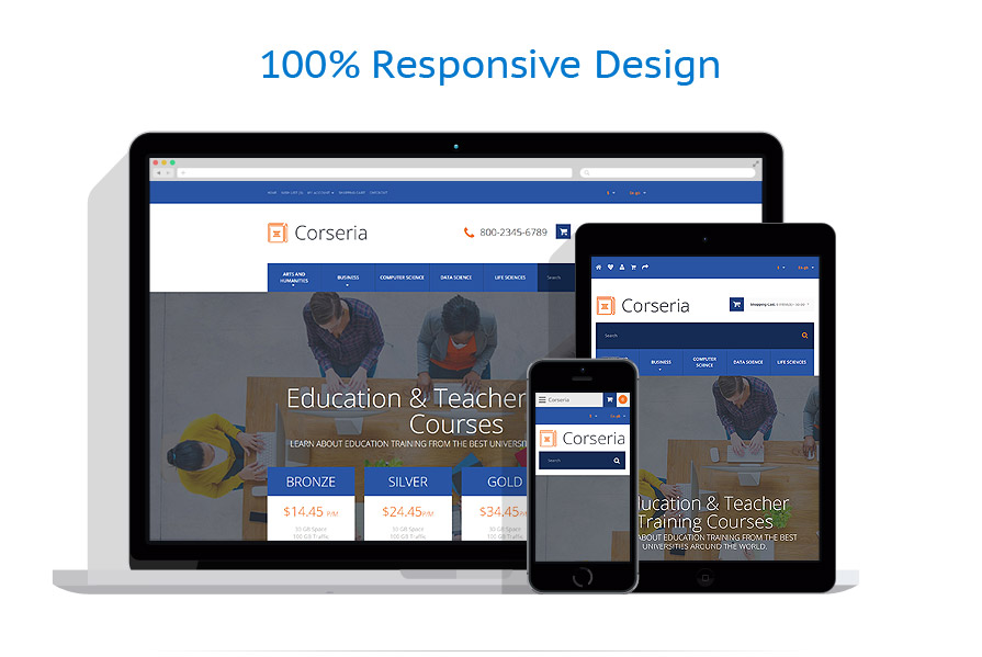 responsive template | Education | ID: 3087