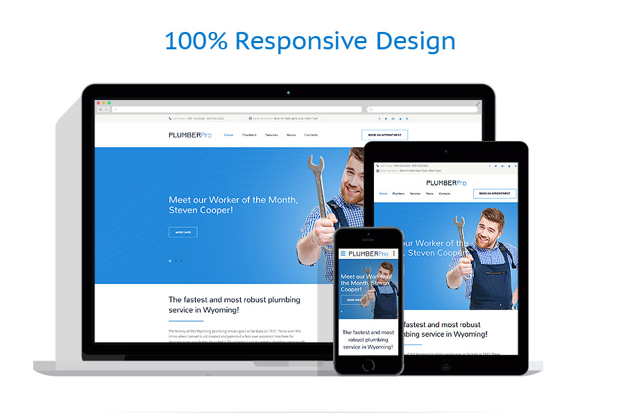 responsive template   Maintenance Services   ID: 3092